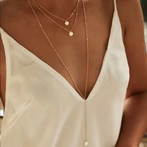 Layered necklace 💕
